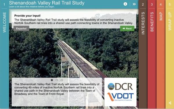 Shenandoah Rail Trail Survey image 2